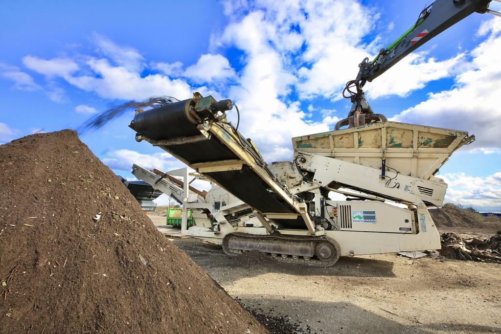 recyclage des déchets de construction
